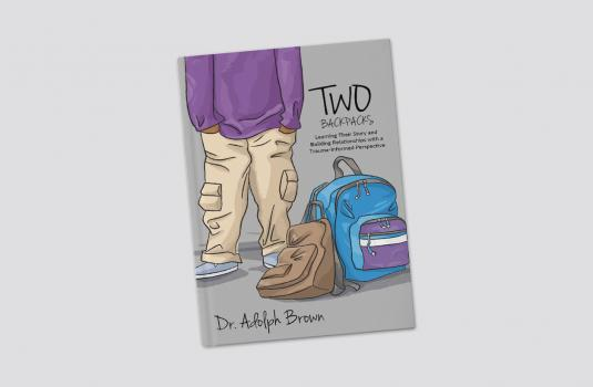 Dr. Adolph Brown Two Backpacks Book